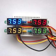 Nuolatinės įtampos voltmetras 4.5 -30V