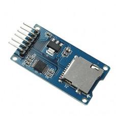 MicroSD & SDHC kortelių skaitytuvo modulis