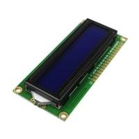 LCD1602 16x2 ekranas mėlynas