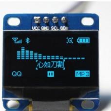 """0.96"""" OLED ekranas mėlynas"""