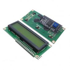 LCD1602 16x2 ekranas žalias I2C IIC