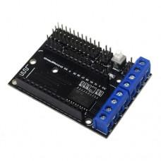 NodeMCU variklių vadymo priedėlis L293D