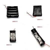 1x 2x 3x 4x 18650 Baterijų dėklas