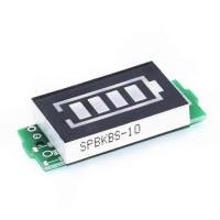 1S 2S 3S 4S Ličio baterijų talpos indikatoriaus modulis