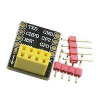 ESP-01 ESP-01s modulio adapteris maketavimo plokštei