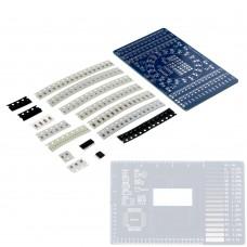 CD4017 LED SMD litavimo praktikos rinkinys