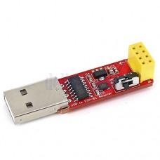 USB į TTL adapteris ESP-01 moduliui su režimų mygtuku