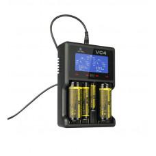 Akumuliatorių įkroviklis XTAR VC4 Li-ion/Ni-MH
