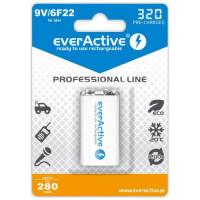 Pakraunama baterija everActive 6F22/9V Ni-MH 320 mAh
