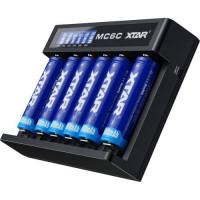 Akumuliatorių įkroviklis XTAR MC6C 18650