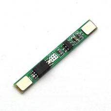1S 3.7V 3A li-ion baterijos apsaugos plokštė