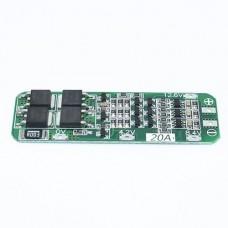 3S Ličio baterijų krovimo ir apsaugos plokštė  12.6V 18650