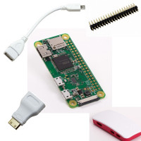 Raspberry Pi Zero W Case Kit