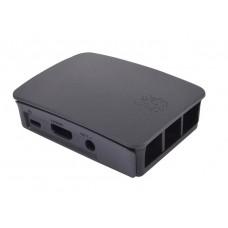 Dėklas Raspberry Pi 3 model B/B+ juodas