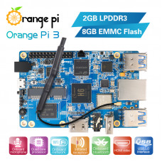 Orange Pi 3 H6 2GB LPDDR3 + 8GB EMMC Flash