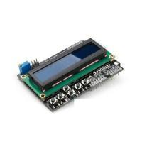 LCD1602 ir klaviatūros priedėlis