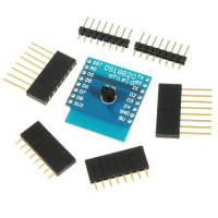 Wemos D1 mini DS18B20 temperatūros jutiklio priedėlis