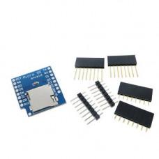 Wemos D1 mini SD kortelės priedėlis